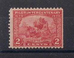 STATI UNITI D'AMERICA 1920  SBARCO DEI PELLEGRINI DALLA MAYFLOWER UNIF. 368 MNH XF - Unused Stamps