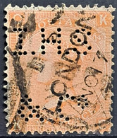 GREAT BRITAIN 1865 - Canceled - Sc# 43 - 4d - Usados