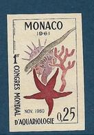 Monaco Essai De Couleur Non Dentelé  N°551** . - Variedades Y Curiosidades