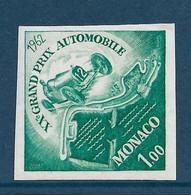 Monaco Essai De Couleur Non Dentelé  N°574**. 20° Gd Prix Automobile. - Variedades Y Curiosidades