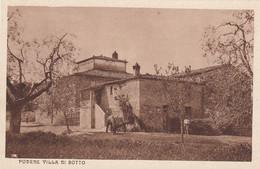 CORSANO-SIENA-VILLA DI SOTTO-CARTOLINA NON  VIAGGIATA  -ANNO 1925-1935 - Siena