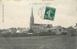 """/ CPA FRANCE 44 """"Plessé, Vue Générale"""" - Sonstige Gemeinden"""