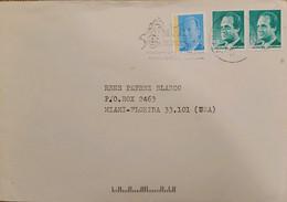 A) 1994, SPAIN, FROM SALAMANCA TO MIAMI-UNITED STATES, KING JUAN CARLOS STAMP - 1991-00 Cartas