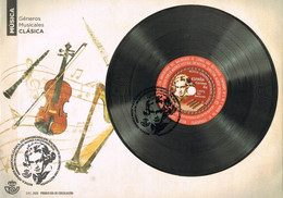 [D0004] España 2020; FDC Música Clásica: Beethoven (NS) - FDC