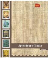 India 2021 Splendour Of India Series I. Antique Pots Monument ,Presentation Pack, 6 Mint (Limited) (**) Inde Indien - Cartas