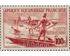 Ref. 640687 * MNH * - FRENCH EQUATORIAL AFRICA. 1943. AIRCRAFTS . AVIONES - Ongebruikt