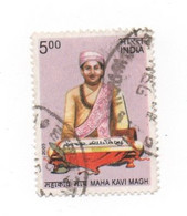 Inde India 2009 - YT 2115 - Maha Kavi Magh - Oblitéré - Used - Used Stamps