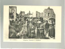 56 Et 54 Délégation Vannetaise à Nomény Coll. Le Matin Offete Par Normand Vins à Vannes Costume Coiffe - Vannes