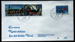 Greenland 1998 Cover  Minr.330  KANGERLUSSUA   (lot  150 ) - Cartas