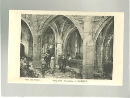56 Et 54 Délégation Vannetaise à Nomény Coll. Le Matin Offete Par Normand Vins à Vannes Intérieur D'une Abbaye église ? - Vannes