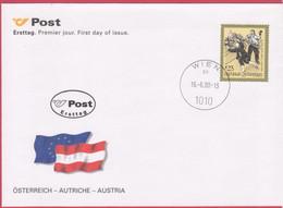 FDC 2000 - Mi 2324 (1) : Sagen Und Legenden : Die Laib Brot Marter , ST 1010 Wien - 1991-00 Cartas