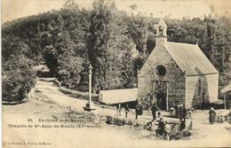 Environs De St Brieuc Chapelle De Ste Anne Du Houlin ( XVe Siècle ) Animée - Saint-Brieuc