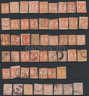 (*), *, O 1871 42 Db Kőnyomású és 8 Db Könyvnyomású Hírlapbélyeg + 1 Db 1921-es újnyomat (~290.000) - Non Classificati