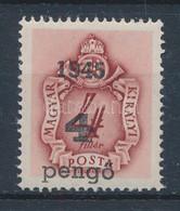 ** Nagyvárad I. 1945 Barnaportó 4P/4f III-as Típusú Felülnyomással, Bodor Vizsgálójellel (120.000) - Non Classificati