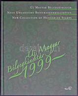 ** 1999 Új Magyar Bélyegkincstár, Benne Földrészek állatai Feketenyomat Blokk Piros Sorszámmal (116.000++) - Non Classificati