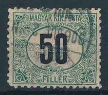 """O 1903 Zöldportó """"B"""" 50f 2. Vízjelállás (100.000) - Non Classificati"""