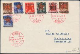 1944 7 Db Zenta Bélyeg Filatéliai Levélen, Bodor Vizsgálójellel. Certificate: Tubinovic - Non Classificati