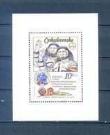 CZECHOSLOVAKIA  BLOCK 1979 SPACE  SPACE    MNH - Sin Clasificación