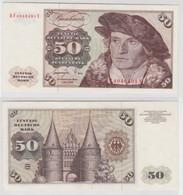 T141497 Banknote 50 DM Deutsche Mark Ro. 277a Schein 1.Juni 1977 KN KF 4046491 Y - 50 Deutsche Mark