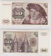 T143029 Banknote 50 DM Deutsche Mark Ro. 277a Schein 1.Juni 1977 KN KF 6562535 G - 50 Deutsche Mark