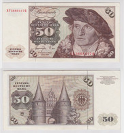 T144535 Banknote 50 DM Deutsche Mark Ro. 277a Schein 1.Juni 1977 KN KF 5668417 Q - 50 Deutsche Mark