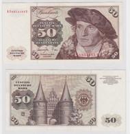 T144891 Banknote 50 DM Deutsche Mark Ro. 277a Schein 1.Juni 1977 KN KF 6854165 Y - 50 Deutsche Mark