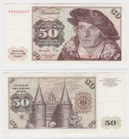 T145145 Banknote 50 DM Deutsche Mark Ro. 277a Schein 1.Juni 1977 KN KF 6520970 U - 50 Deutsche Mark