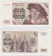 T145313 Banknote 50 DM Deutsche Mark Ro. 277a Schein 1.Juni 1977 KN KF 4347269 Y - 50 Deutsche Mark