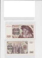 T145486 Banknote 50 DM Deutsche Mark Ro. 277a Schein 1.Juni 1977 KN KG 9121246 H - 50 Deutsche Mark