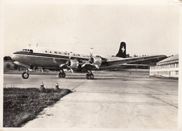 CPA - Douglas DC 6 B - Compagnie Swiss Air Line - - 1946-....: Era Moderna
