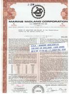 U.S.A . – MARINE  MIDLAND CO.  100 000  US  DOLLARS  -1929  BOND. SB # NE  2134-42- 17 ,USED=85,- EUR - Etats-Unis