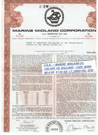 U.S.A . – MARINE  MIDLAND CO.  100 000  US  DOLLARS  -1929  BOND. SB # NE  2134-42- 17 ,USED=85,- EUR - Estados Unidos