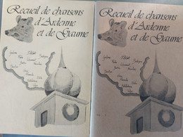 Recueil De Chansons D'Ardenne Et De Gaume - Belgium