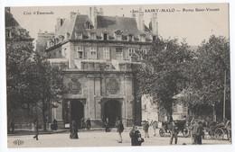 CPA 35 - SAINT MALO (Ille Et Vilaine) - 1500. Portes Saint Vincent. ELD - Saint Malo