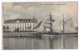 CPA 35 - SAINT MALO (Ille Et Vilaine) - 1473. Hôtel Franklin. ELD - Saint Malo