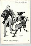 52533543 - Deleysin, R. - Types De Landsturm - Frau - Zigarette - Otros Ilustradores
