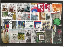 401 - 9 - Lot Timbres Oblitérés Des Pays-Bas - Collections