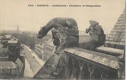 AMIENS - Cathédrale - Chimères Et Gargouilles - Amiens