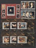 Comores ART Paintings Rubens 1977 Mi#353-58 Bl#97-103 MNH - Rubens