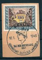 MiNr. 828 Briefstück, Abart - Engraving Errors