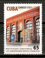Cuba 2007 / Pharmacy Museum MNH Museo Farmacia Apotheke Pharmacie / Hk71  C5-11 - Pharmacy