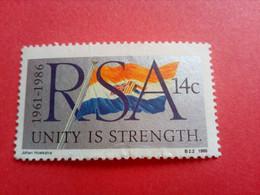AFRIQUE DU SUD - R.S.A. - South Africa -Timbre 1986 : 25 Ans De La Proclamation De La R.S.A. - Oblitérés