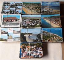 LOT ENVIRON 1000 CARTES POSTALES MODERNES ET SEMI MODERNES DIVERSES FRANCE - BON ETAT- A TRIER - - 500 Postcards Min.