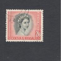 RHODESIA&NYASALAND...1954: Michel 13used - Rhodesien & Nyasaland (1954-1963)