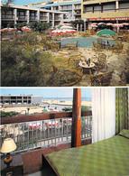 """11 - PORT LA NOUVELLE : Bar Hotel Restaurant """" LE MIRAMAR """" - CPSM CPM Village (5.625 H ) Grand Format - Aude - Port La Nouvelle"""
