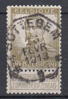 N° 112 OBLITERATION TELEGRAPHIQUE DE SOTTEGEM - 1912 Pellens