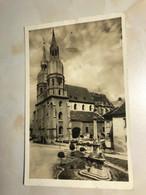 Slovakia Slovakei Trnava Nagyszombat Statuen St Michael Church Kostol Sv Mikulása 12140 Post Card POSTCARD - Eslovaquia