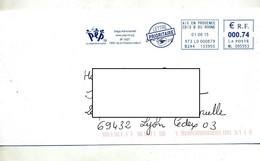 Lettre Flamme Ema Aix En Provence Association Parent PEP - EMA ( Maquina De Huellas A Franquear)