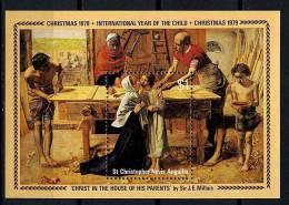 ST Christophe ** Bloc N° 7 - Noël. Tableau De J E  Millais - Central America