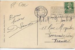 35 Ct  1932  Ostende Le Kursaal De Face - 1932 Cérès Et Mercure